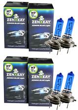H7 Xenon Auto Lampe 55W 12V Look Super White Blue Vision Halogen 4 Stück