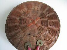 Vintage Chinese Sewing Basket  1920-1930's