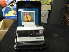 Vintage Polaroid Spectra QPS Instant Camera w/ Manual & Case