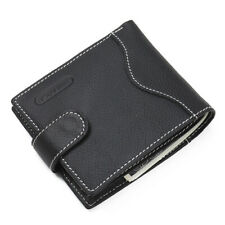 Genuine Leather Men's Trifold Wallet Coin Purse Credit Card Holder Money Clip