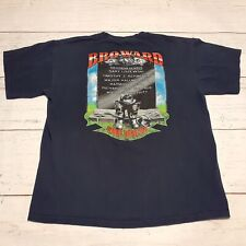 Broward Florida Fire Rescue T Shirt Firefighter Size Large Blue Always Remember
