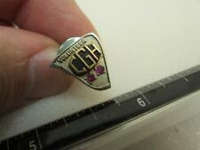 CGH Hospital Tie tack Tac Volunteer Gold Filled with Stone Pin (17D1)