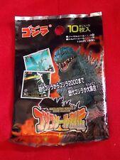 NEW! 1999 Godzilla Trading Stickers / 10 stickers pack / AMADA Kaiju UK DESPATCH