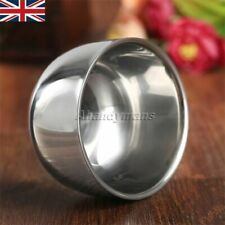 Stainless Steel Double Layer Men's Shaving Mug Bowl Cup For Shave Brush Fashion