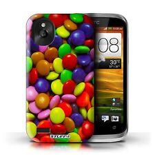 Stuff4 Hülle/Case für HTC Desire X/Smarties/Bonbons/Süßigkeiten