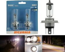 Sylvania Basic 9003 HB2 H4 60/55W Two Bulbs Head Light Dual Beam Replacement DOT