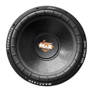 """Lanzar MAXP124D Max Pro 15"""" 2000W Power Dual 4 Ohm Car Subwoofer Audio System"""