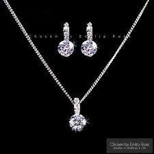 Cubic Zirconia White Gold Plated Costume Jewellery