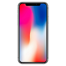 Apple Funda Silicona para iPhone X - Negra (MQT12ZM/A)