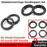 Gabelsimmerringe Staubkappen Set für Honda Kawasaki Suzuki Yamaha vgl. 56-129