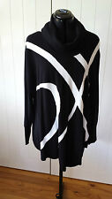 TS Give a Twirl Pullover Black/cream Size XS Brand new with tags