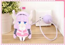Charging plug for iPhone.Miss Kobayashi's Dragon Maid.Kanna Kamui Tail.Cosplay