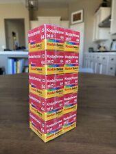 Sealed Lot 10 Kodachrome 64, 36 KR135-36 Kodak Select 35mm Film Color Slides