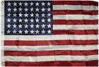 2x3 Historical 48 Star USA American Flag 2'x3' Banner Grommets Premium