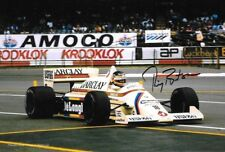 Thierry Boutsen SIGNED  Arrows-BMW A8 , British Grand Prix  Silverstone 1985