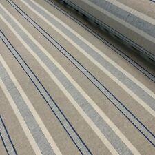London Stripe Blue - Double Width - 280cm Wide