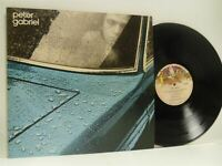 PETER GABRIEL self titled 1 (car) LP EX/EX, CDS 4006, vinyl, album, lyric insert