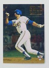 1994 Futera ABL Australian Baseball Gold Prospect Insert Card #117 Kevin Jordan