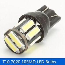 2Pcs Luces De Matrícula Luz De Estacionamiento LED COB W5W T10 7020 10SMD