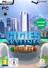 Cities Skylines - Parklife DLC Key - PC STEAM Download digital Code - DE/Global