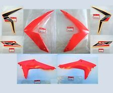 HONDA CRF CRF250 CRF250L FRONT + SIDE FAIRING SET + STICKERS RED 2012 -2019