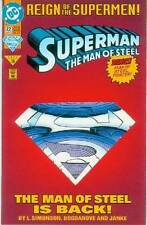 Superman: Man of Steel # 22 (bound-in poster, collectors' edition) (USA, 1993)