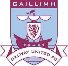 """Galway United FC Ireland Soccer Football Car Bumper Sticker Decal 5"""" x 5"""""""