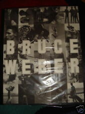 BRUCE WEBER FAHEY KLEIN EXHIBITION CATALOG 1991 Mint