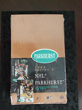 NHL TRADING CARDS - FACTORY SEALED BOX - 1992 SERIES 2 - PARKHURST - 36 - PACKS
