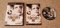 Haunting Ground Sony PlayStation 2 PS2 Game Complete CIB Lot AUTHENTIC & TESTED!