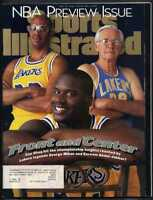 SPORTS ILLUSTRATED NOVEMBER 11 1996 JABBAR-MIKAN & SHAQ