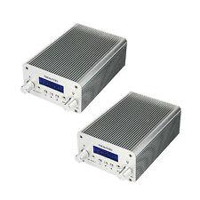 2*5W/15W PLL FM Transmitter Radio Stereo Station Bluetooth Wireless Broadcast MD