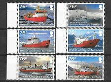 British Antarctic Territory 2017 Research Ships  MNH