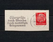 (YYAE 063) Germany 1939 Koln Slogan Cancel propaganda advertising Reich