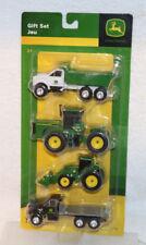 Ertl John Deere 4 Piece Gift Set Trucks & Tractors 1:64 Scale #37685 NEW