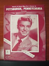 There's a Pawn Shop on a Corner in Pittsburgh, Pennsylvania - 1952 sheet music