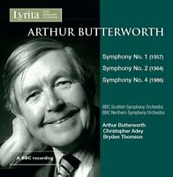 BBC Scottish Symphony Orchestra - Arthur Butterworth Symphonies Nos. 1, 2 and 4