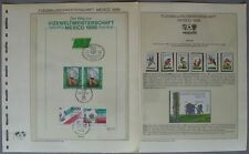 S792) Football World Cup 1986 Mexico Collection 83 Brands +41 Blocks / Klbg +25