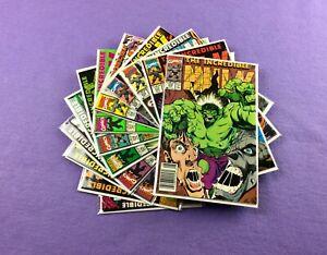 Incredible Hulk Lot: 11-Bk- #372 373 374 375 376 377 378 379 380 381 382!