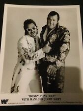 HONKY TONK MAN & Jimmy Hart-RARA FOTOGRAFIA PROMOZIONALE-WWF WWE