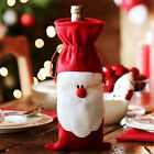 Red Christmas Santa Wine Bottle Cover Xmas Decor Wedding Party Home Decoration