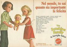X9546 The Sunshine Family - La Famiglia Felice - Pubblicità 1976 - Advertising