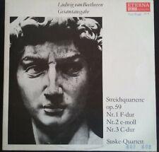 Ludwig van Beethoven Gesamtausgabe Streichquartette 2x Vinyl LP