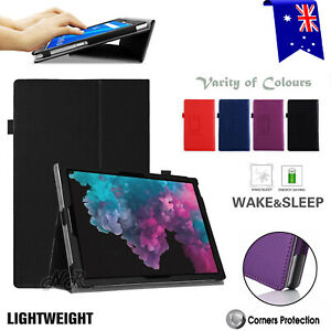 """For Microsoft Surface Pro 7 6 5 4  Go 10.0"""" Flip Leather Case Shockproof Cover"""