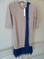 Robe Pull Beige Maiwen Taille 36 By Monshowroom Neuve Avec Étiquette