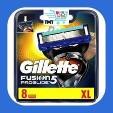 Gillette Fusion5 Proglide Razor Blades 8 Pack NEW 100% Genuine FAST FREE POSTAGE