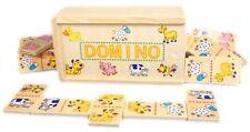 Farm Dominoes - Wooden Dominoes Educational Toy