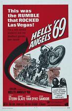 Hell's Angels '69 Tom Stern cult biker movie poster print 25