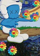"Death NYC Ltd Ed 45x32cm LARGE Signed Graffiti Pop Art Print ""DEATHA167"""