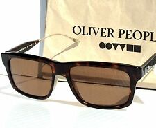 NEW* Oliver Peoples GAVIOTA Dark Tortoise POLARIZED Bronze Sunglass 5283s $300
